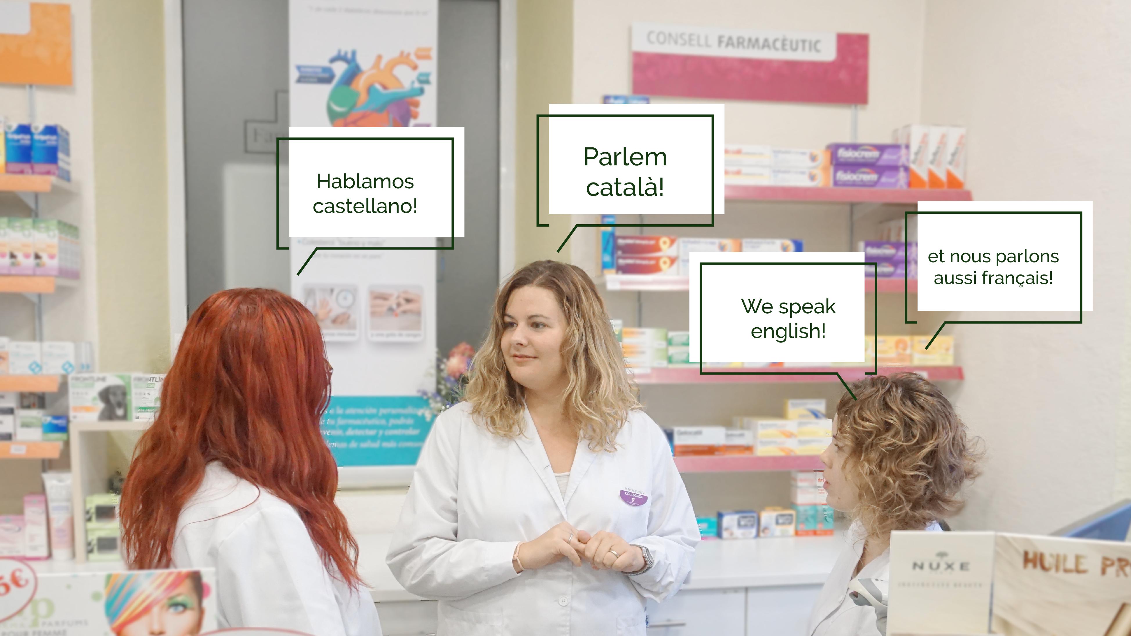 Parlem català! Hablamos castellano! We speak english et nous parlons aussi français!