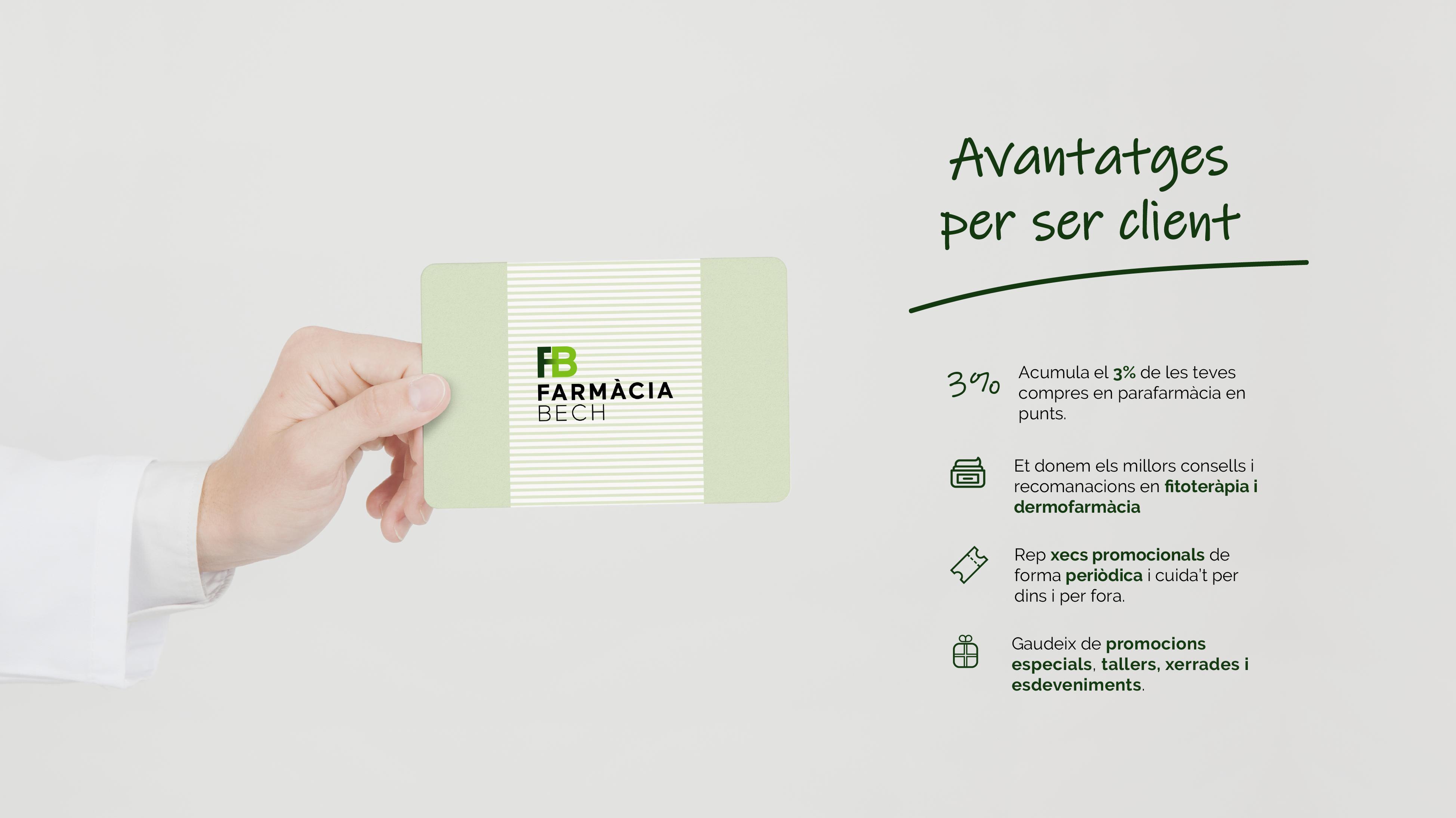 Avantatges per ser client de Farmàcia Marta Bech