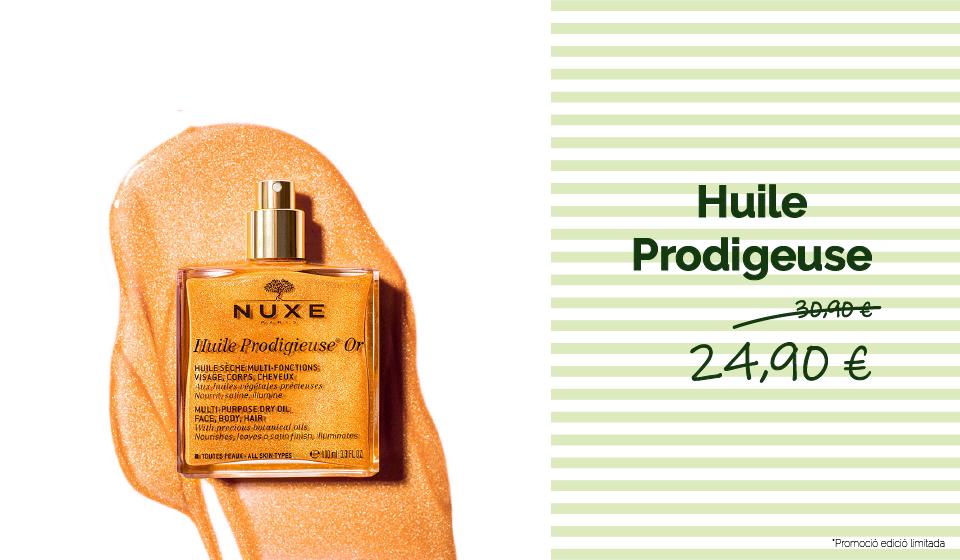 Promoción NUXE Huile Prodigeuse